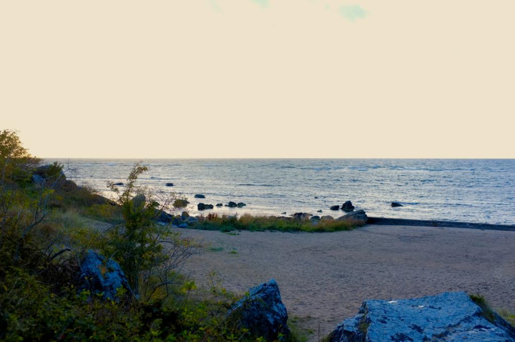 Snäck Gotland utsikt
