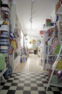 Min butik när den var färdigrenoverad