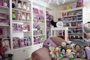 Här är en bild från dockrummet