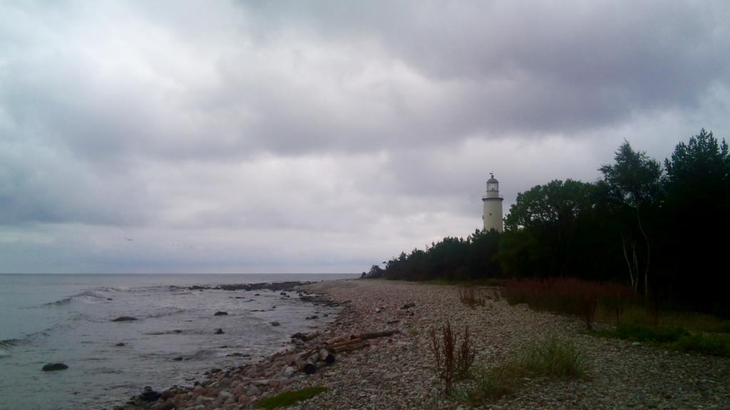 Stranden Norsta auren på Fårö, Gotland