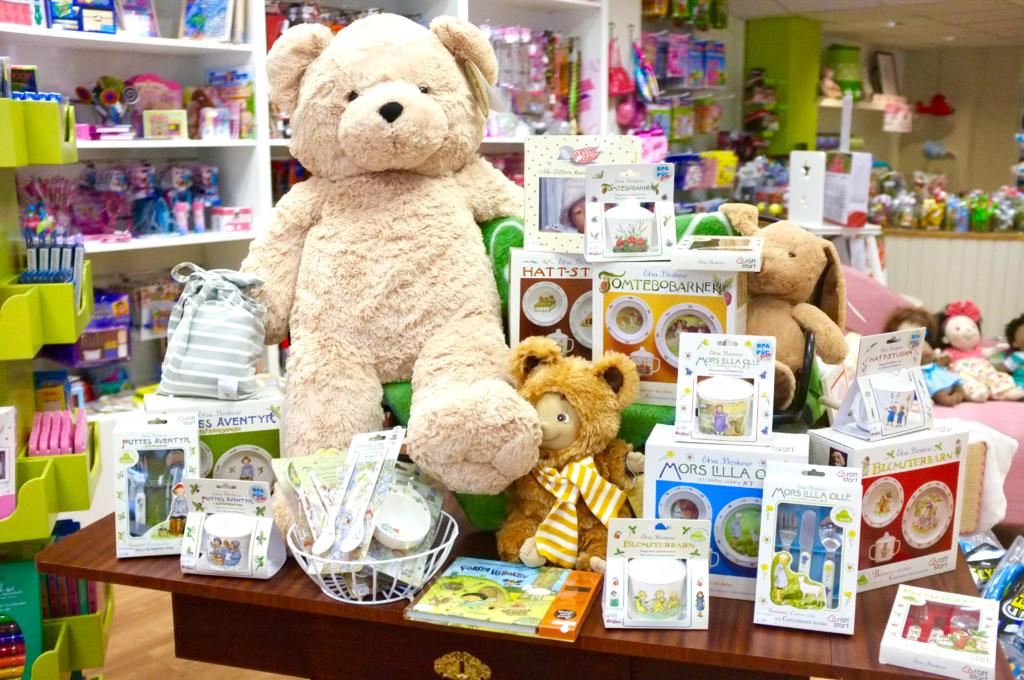 Leksaksbutiken Lilla Bus - tips att besöka under kommande höstlov