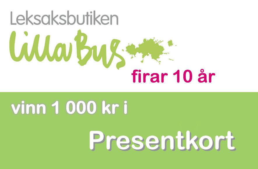 Tävling - vinn presentkort på 1 000 kr