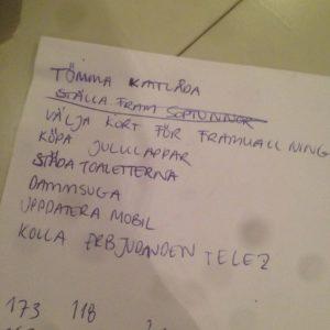 Lista lånad från Kenza