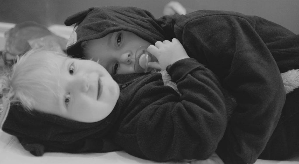 Förebilder storebror och lillebror