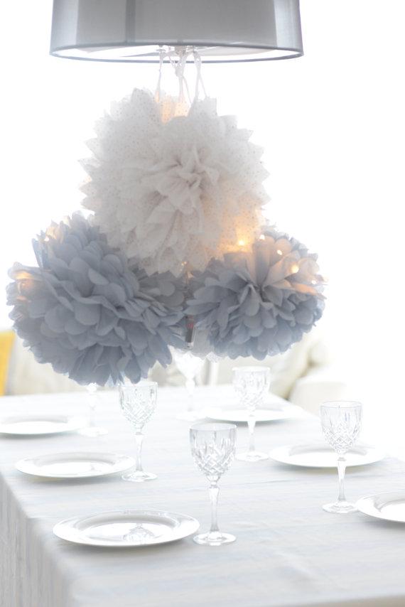 bröllopsplanering - pompoms
