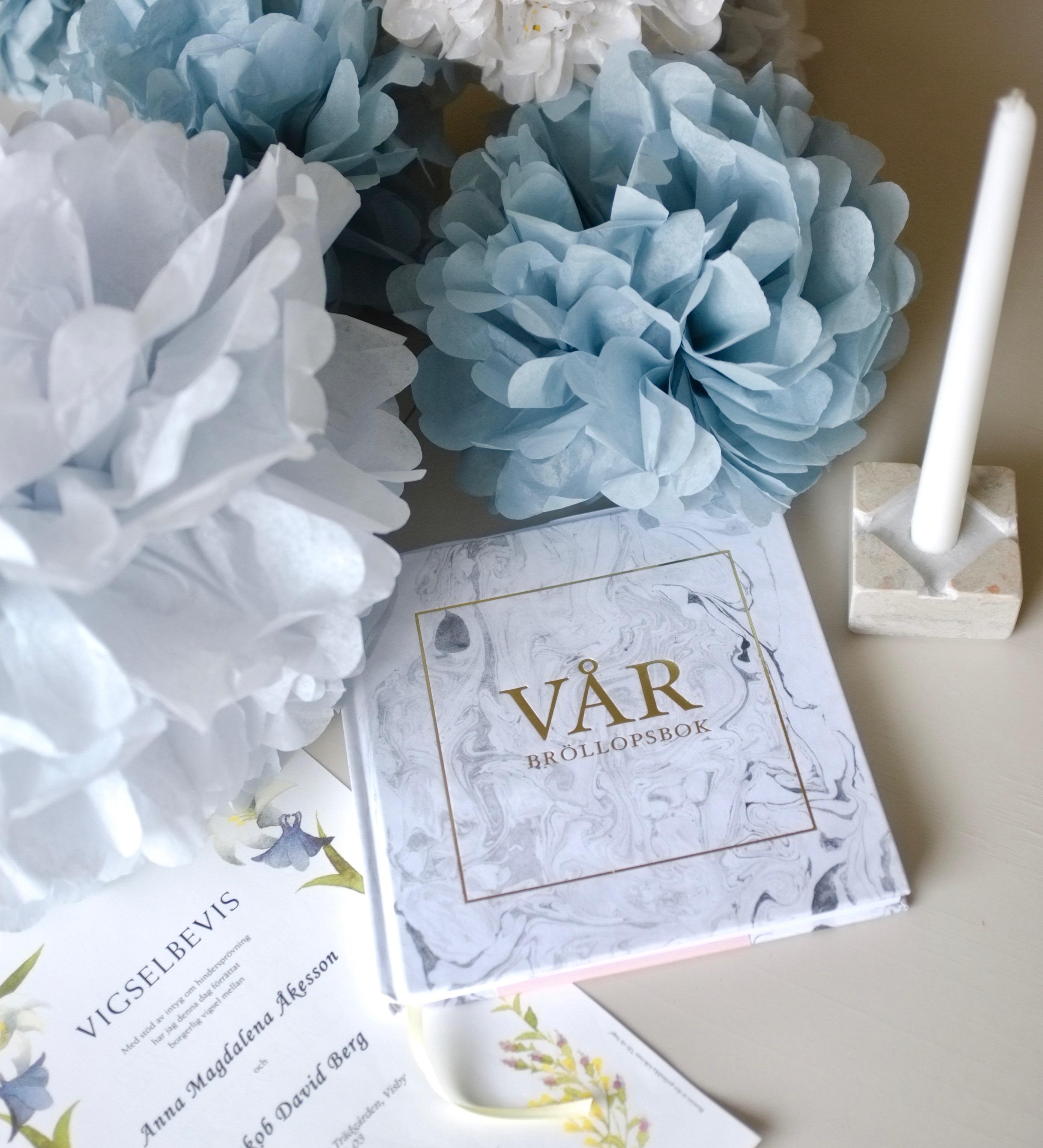 vår bröllopsbok