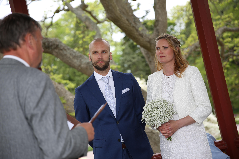 Bröllopet - jag och min syster