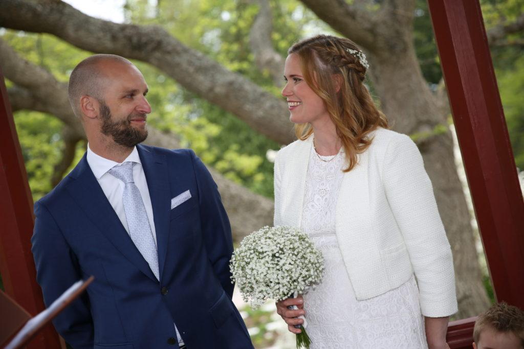 Bröllopsfotona - jag och min syster