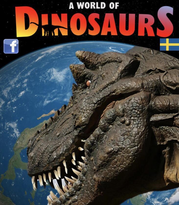 A world of Dinosaurs - Europas största dinosauriemuseum i Kalmar