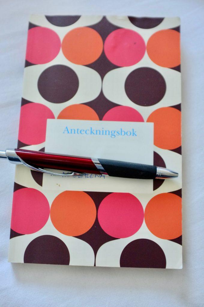 BB-väskan dagbok