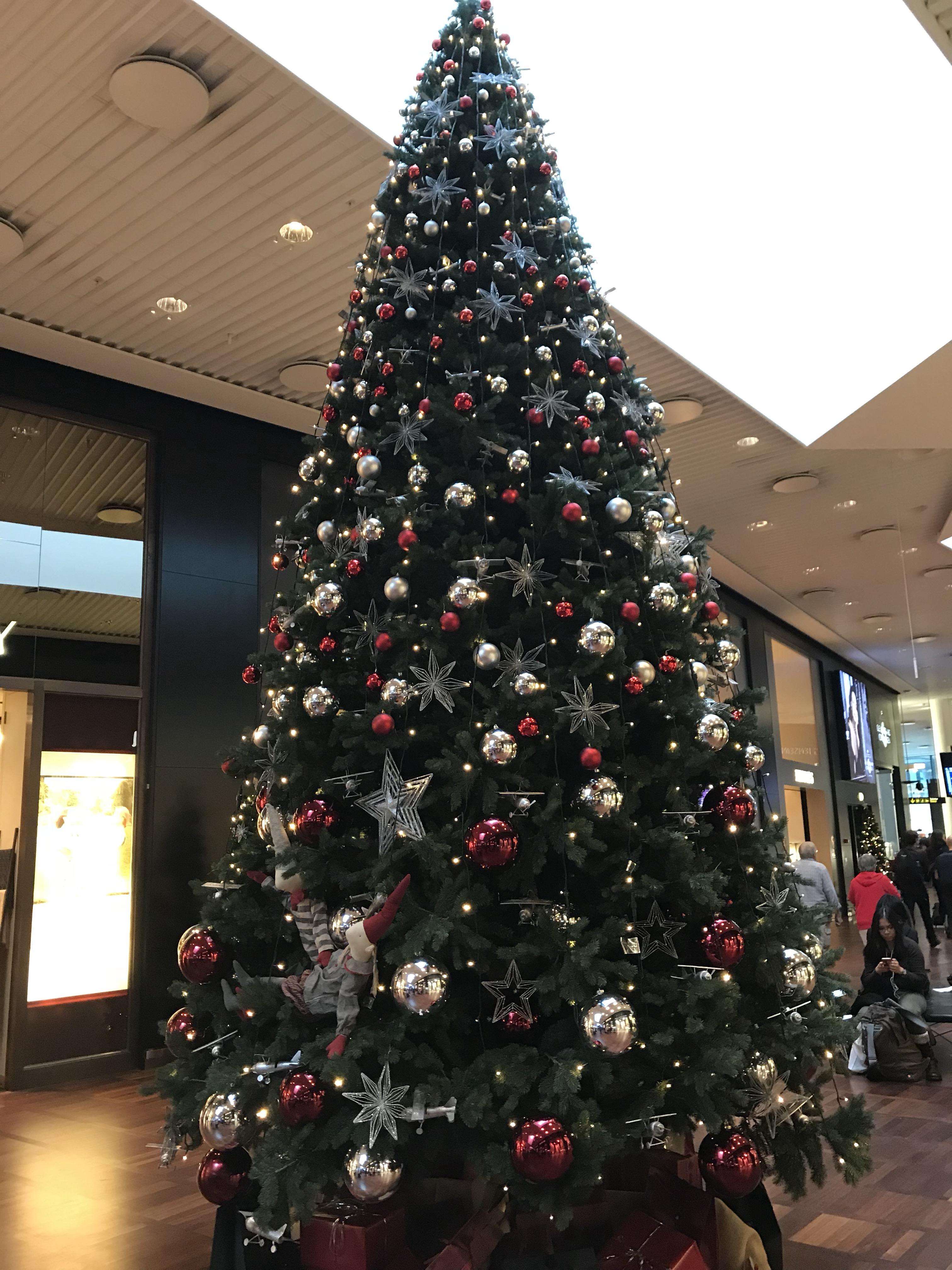 Julgranen på Kastrup flygplats