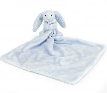 bashful blue bunny blankie jellycat