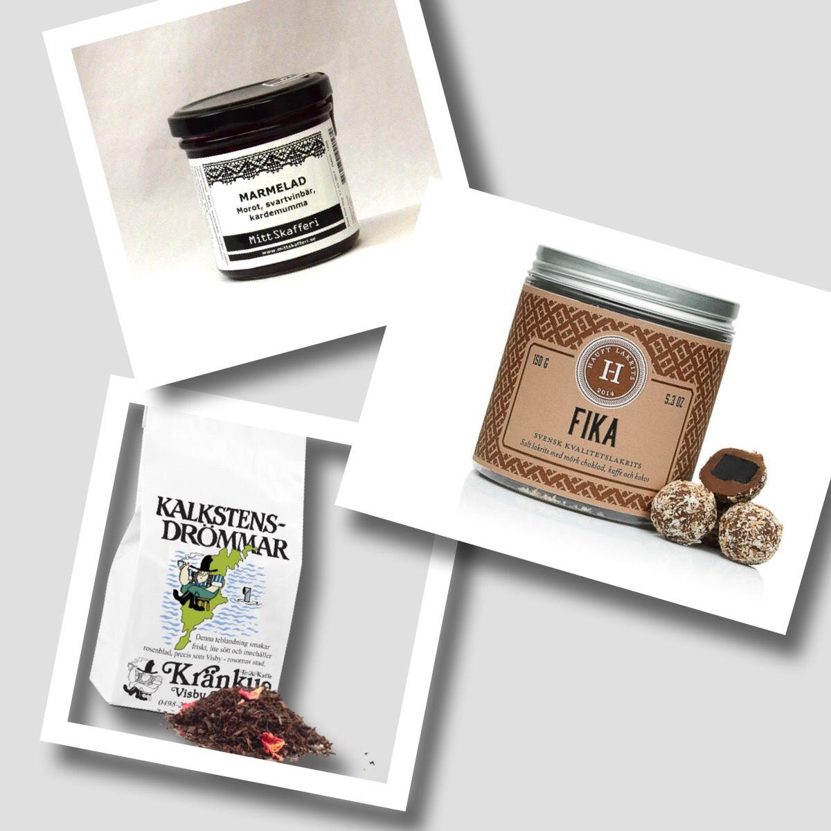 Marmelad, choklad och te - mors dagspresent
