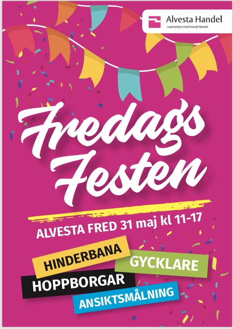 Fredagsfest Alvesta