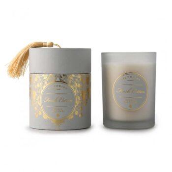 Doftljus Victorian tasselbox fresh cotton