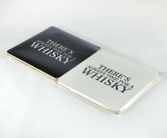 glasunderlägg whisky