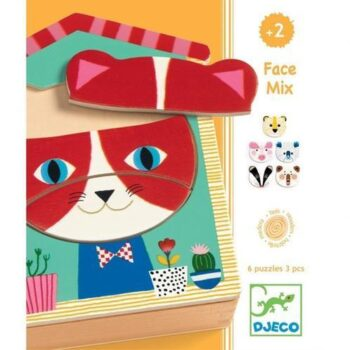 Face mix puzzle djeco