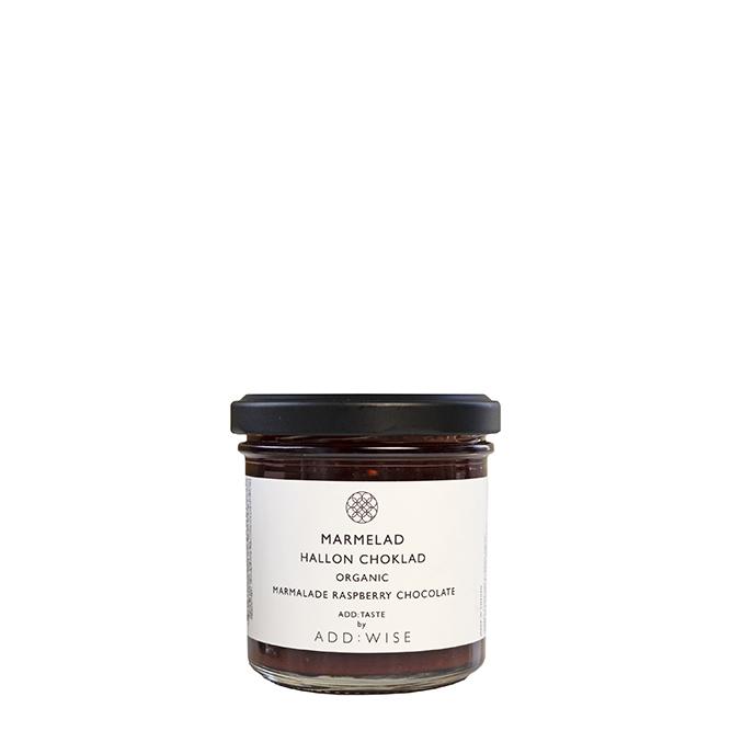 marmelad hallon choklad