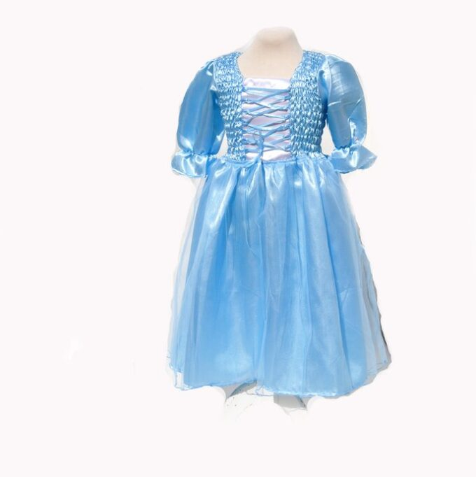 sezza prinsessklänning blå