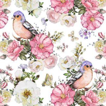 matservett sommarfågel
