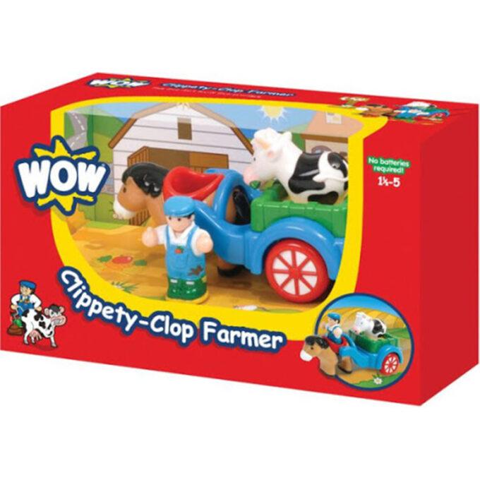 wow toys clippety clop farmer