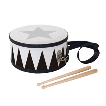 trumma svart natur