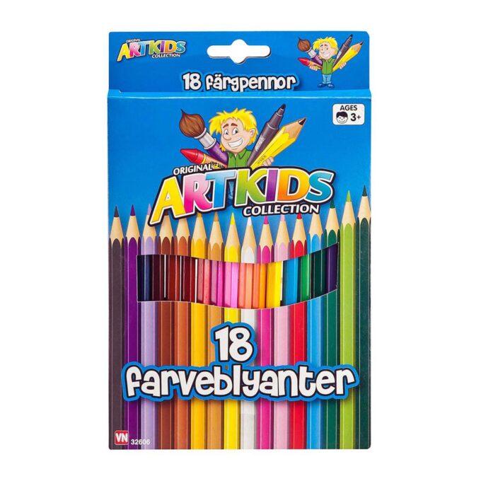 färgpennor som går att vässa