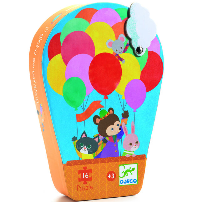 pussel the hot airballon