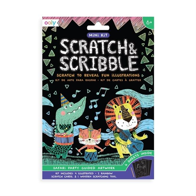 Mini-Scratch-and-Scribble-Safari party