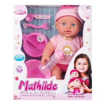 mathilde docka drick och kissdocka