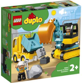 duplo lastbil och grävmaskin 10931