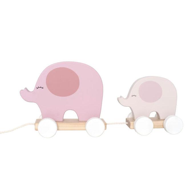 dragdjur elefant rosa
