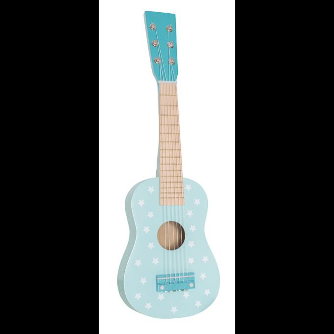 gitarr blå