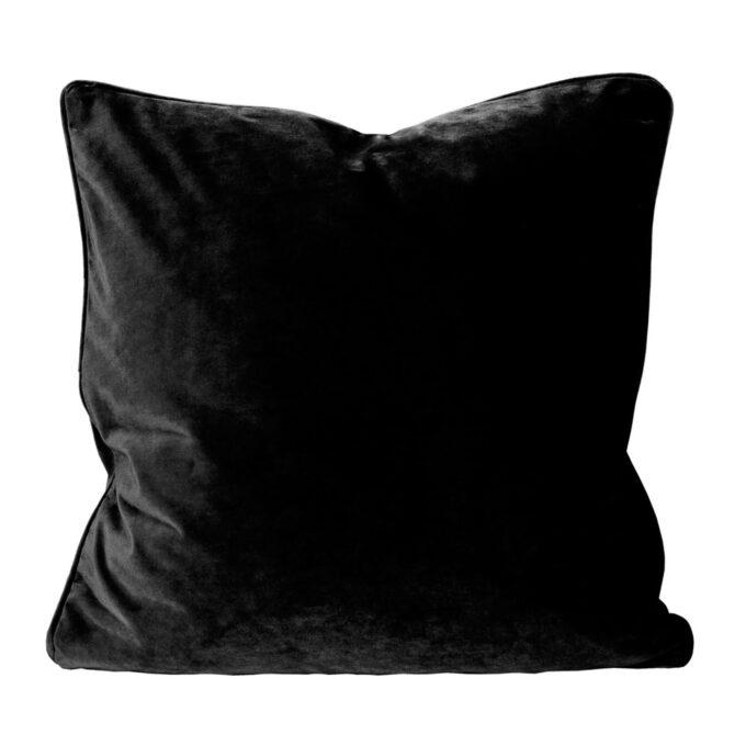 elise svart sammet kuddfodral