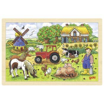 pussel bondgård Millers farm