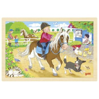 pussel ponny