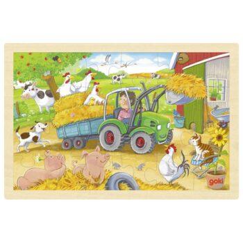pussel traktor