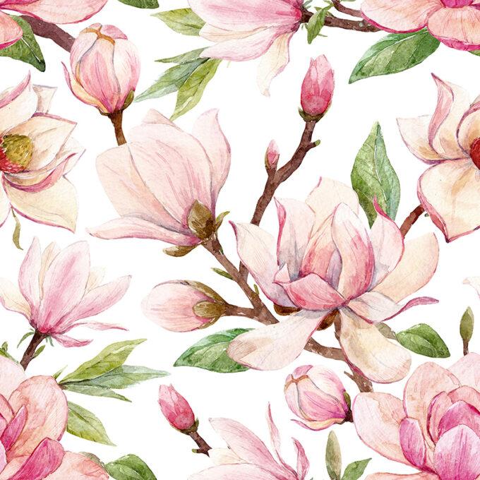 kaffeservett magnolia