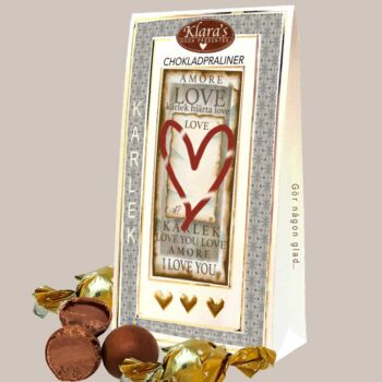 chokladpraliner kärlek