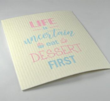 disktrasa eat dessert first