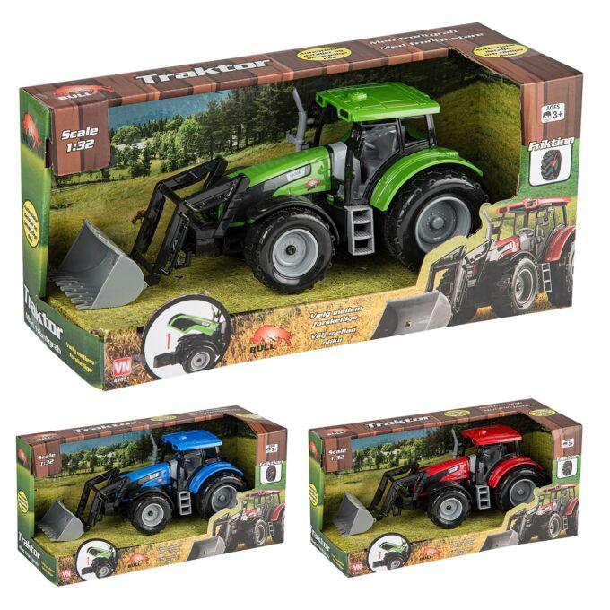 traktor med skopa