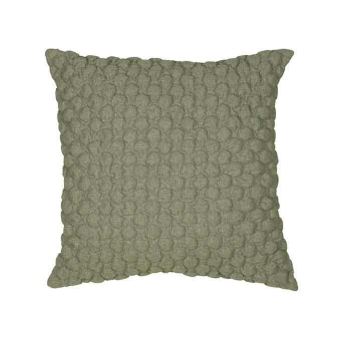 Bubbel kuddfodral grön