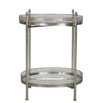 spegelbord silver