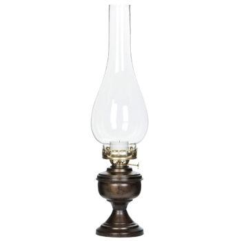 värmeljuslampa maxim brun