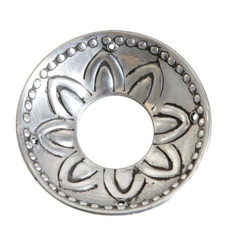 ljusmanschett silver