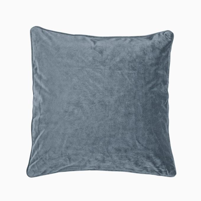 kuddfodral velvet denimblå