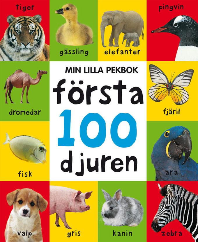 min lilla pekbok första 100 djuren