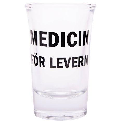 snapsglas medicin för levern