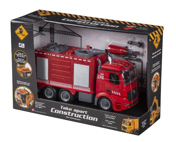 speed truck brandbil