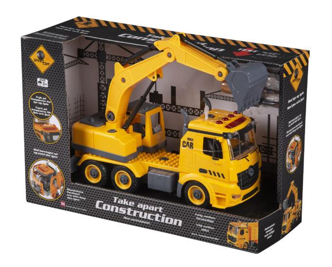 speed truck grävlastbil